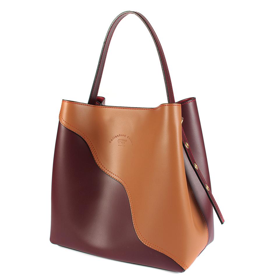 6914d0683381 Стильные женские сумки (бордово-оранжевые) CD091804/09: купить по ...